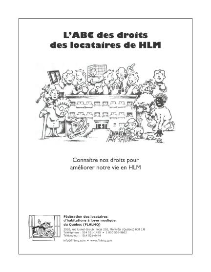 Guides pratiques f d ration des locataires d habitations - Office des locataires perpignan ...